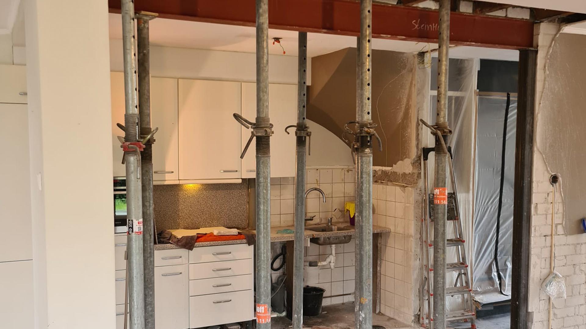 Steinhoff -  Binnenmuur verwijderen - In de praktijk