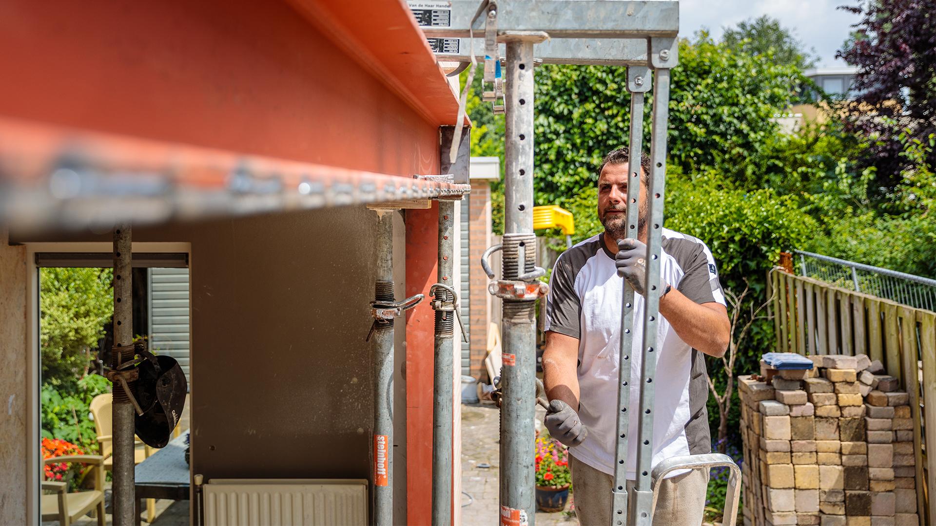 Steinhoff -  Buitenmuur verwijderen - Professional